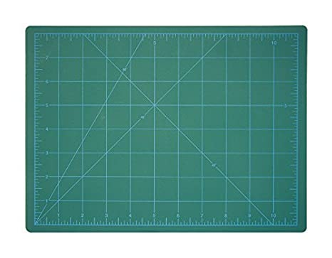24x18 Quilting Double-Sided Cutting Mat , 12x9 Sizes Rotary Blade Compatible, , for Sewing Arts /& Crafts 18x12 , 36x24 DAFA Professional 18 x 12 Self-Healing