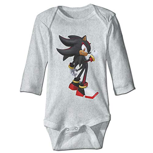 MDClothI Babys Sonic Shadow The Hedgehog Fashion Comfortable Long Sleeve Jumpsuit Outfits 2T ()