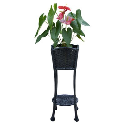 Novelty Plant Stand Color Black ()