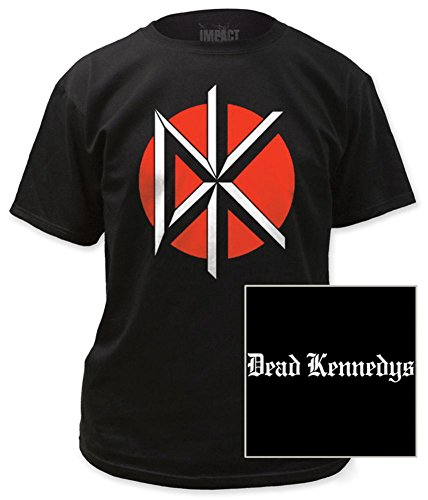 Dead Kennedys - Logo with Black Print T-Shirt Size ()