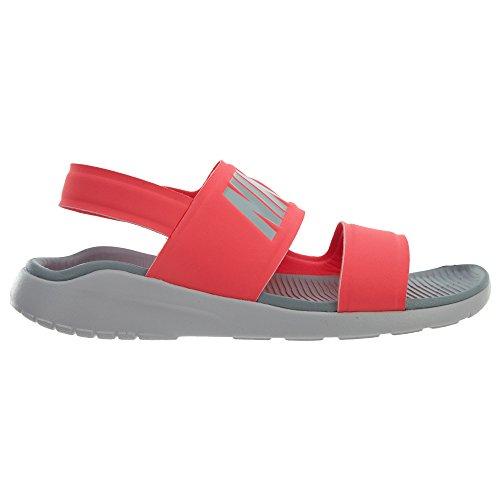 NIKE Wmns Tanjun Sandal Mens Fashion-Sneakers 882694 Solar Red/Light Pumice nbQEKZQ1