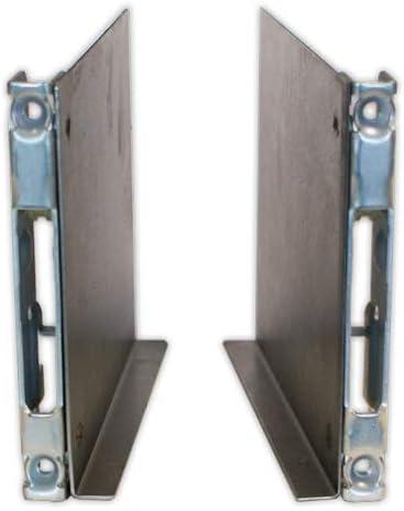DOJA Industrial | Guia bisagra puerta HORNO UNOX (Izq + Der) | L=110 mm: Amazon.es: Bricolaje y herramientas