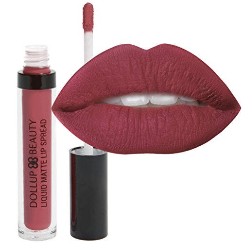 dollup-beauty-liquid-matte-lipstick-spread-with-no-smudge-no-fade-long-lasting-formula-choose-from-8