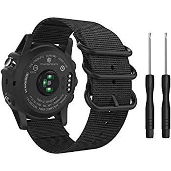 Amazon.com: Replacement Band for Garmin Fenix 3 / Garmin ...
