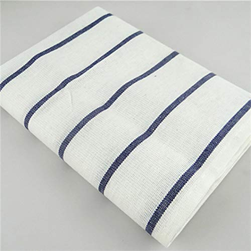 - RXIN Navy Blue Striped Checker Cotton Cloth Napkins for Drying and Cleaning Kitchen (16.5 x 24.4, Set of 4)