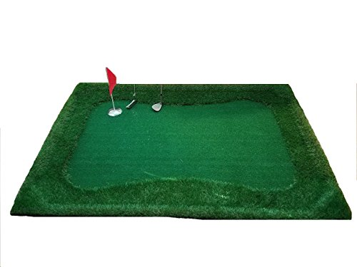 Low Country Pastimes- Float N' Chip 4' x 6' Floating Golf Green- Ultimate Backyard Party ()