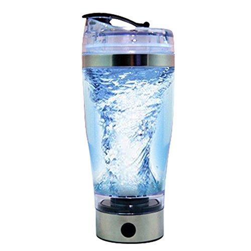 Proteínas agitador Botella USB 450ml Vortex mezclador eléctrico recargable portable Remover Licuadora Mezclador para...