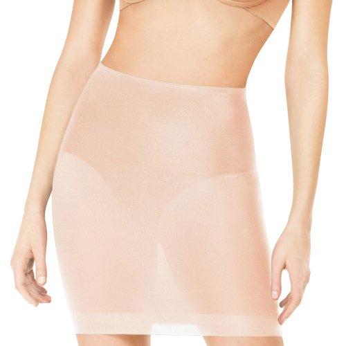 UPC 843953174998, Spanx Womens Sheer Stretch Half Slip Tan L
