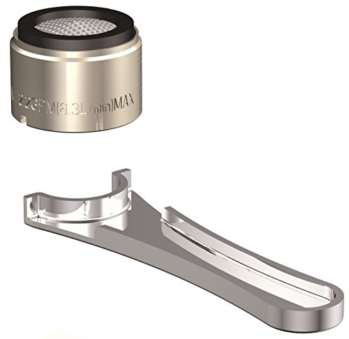 (Danze DA613072NBN Junior Male Faucet Aerator Kit, 2.2 GPM, Brushed Nickel )