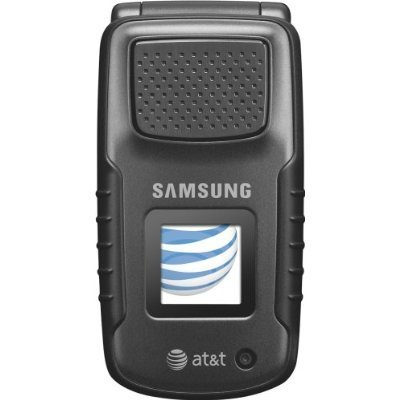 Samsung Rugby SGH A837 Black At&t Rugged 3g PTT GPS Cell Phone (Renewed)