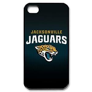 NFL Jacksonville Jaguars Iphone 4 4s Stylish Simplicity Hard Case Cover