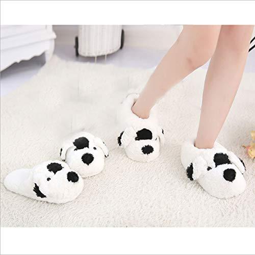 Chaudes Lanfire Peluche Chaussons En Animaux Chien Shoes Pantoufles Pour RqAtUBq