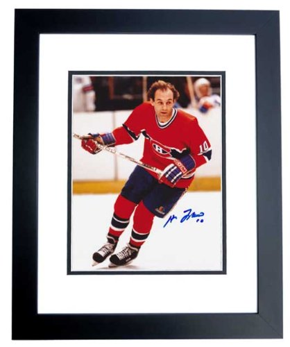 Guy Lefleur Signed - Autographed Montreal Canadiens 8x10 inch Photo BLACK CUSTOM FRAME - Guaranteed to pass PSA or JSA from Real Deal Memorabilia