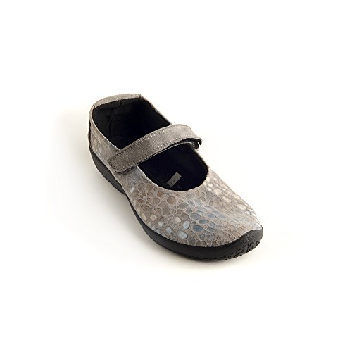Arcopedico L45 Flat - Grey Print - Womens - 40