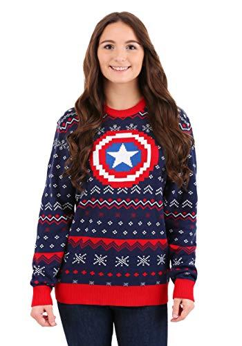 sweaters captain america - 9