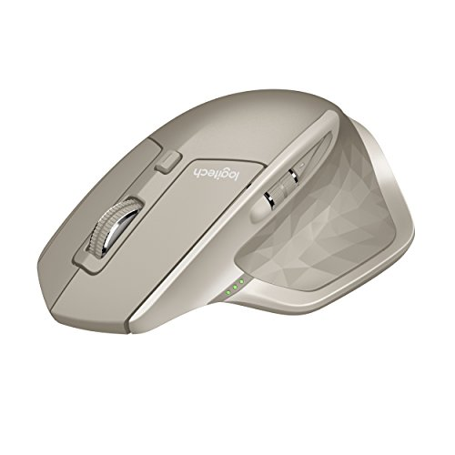 Logitech MX Master Wireless Mouse, Large Mouse, Computer Wireless Mouse, Stone (910-004956)