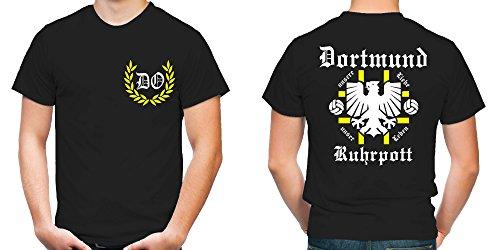 Dortmund Ruhrpott T-Shirt | Fussball | Männer | Herrn | Zeche | Tradition | Ruhrpott | Ultras