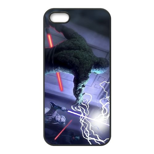 Star Wars The Force Unleashed 2 6 coque iPhone 4 4s cellulaire cas coque de téléphone cas téléphone cellulaire noir couvercle EEECBCAAN00183