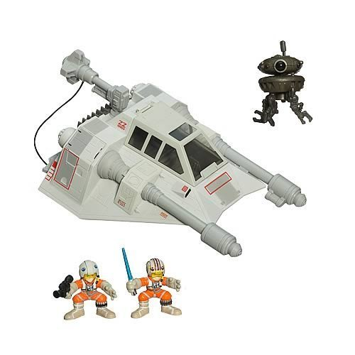 (Star Wars Galactic Heroes Cinema Scene - Snow Speeder)