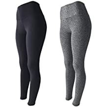 KIT 2 Leggings Fitness Suplex Lisa ou Estampada