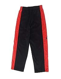 Nike Air Jordan Pantalones de entrenamiento para Niños y jóvenes,  Negro/ rojo (black/gym red), 4