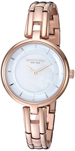 Kenneth Cole New York Women's KC50203002 Analog Display Quartz Rose Gold Watch