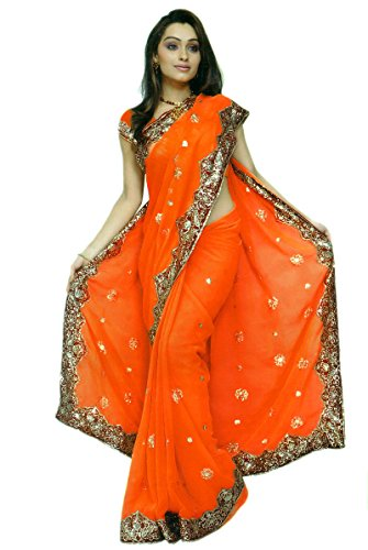 Sari Fabric Belly Dance Dress - 7