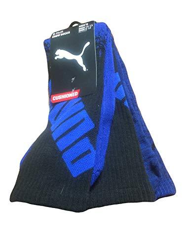 Puma Men's 3 Pack Socks Shoe Size 6-12