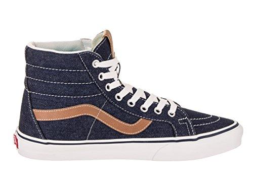 Furgoni Vans Unisex Denim C & L Sk8-hi Rèssue Sneaker Blues Chipmunk