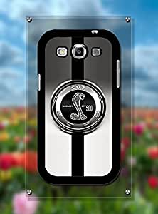 Samsung S3 I9300 Funda Case Logo Car Ford Mustang Cobra Shelby - Customized Drop Protection Samsung Galaxy S3 I9300 Back Funda Case Cover For Guys