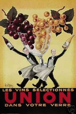 Union Poster - Vintage Robys Art Print - Wine