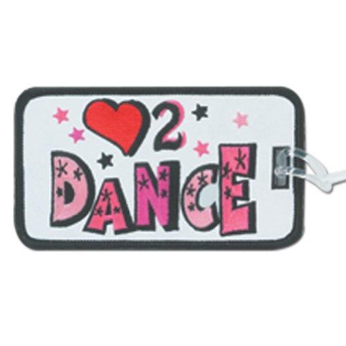 Sports Katz Bag Tag Dance