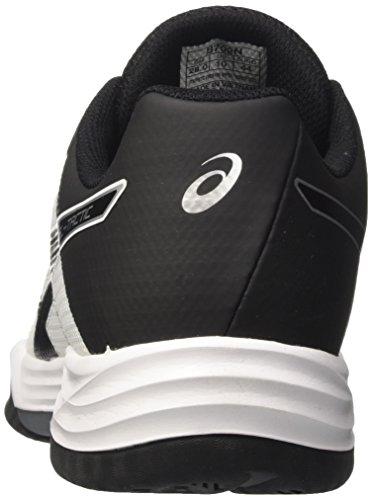 Black Tactic Homme Chaussures Blanc Silver Gel Asics White de Noir Volleyball Hc5zWqf