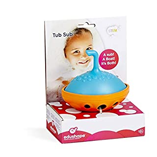 Tub Sub Bath Toy - Baby Bath Toy Floats And Sinks - Versatile Toy Can Be Used As A Submarine Or Boat - Great Form Of Entertainment And Creates Sensory Engagement For Children