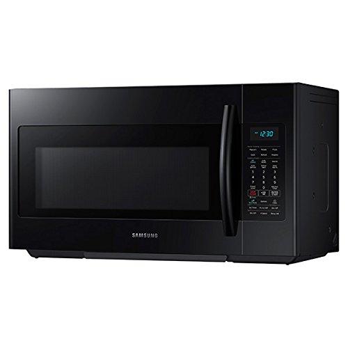 Samsung ME18H704SFB Ft. Microwave, Black