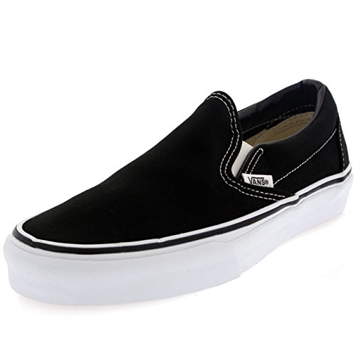 cheap sale official Vans Unisex Slip-On True White VN000EYEW00 Skate Shoes Black discount professional cheap cheap online Manchester online iiO8Q