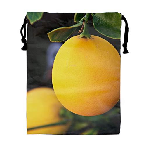 (Drawstring Backpacks Cheap for Kids Party Ripe Lemon Favors Bags Gym Drawstring Bags Bulk)