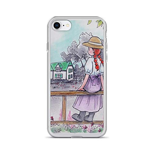 iPhone 7 Case iPhone 8 Case Cases Clear Anti-Scratch Anne of Green Gables, Anne Cover Case for iPhone 7/iPhone 8, Crystal Clear -