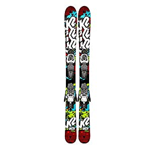 K2 Indy Skis with Fastrak2 4.5 Bindings Boy's 136