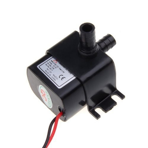 Ultra-quiet Mini DC12V Micro Brushless Water Oil Pump Submersible 240L/H 5W Lift 3M - 1
