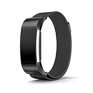 Milanese Loop for Fitbit Charge 2 band Stainless Steel Magnetic replacement Band