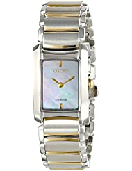 Citizen Womens Eco-Drive Stainless Steel Watch, EG2974-52D