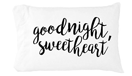 [Oh, Susannah Goodnight Sweetheart Toddler Size Pillowcase (1 Pillow Cover 14 x 20.5 Inches)] (Ideas For Halloween Costumes For Guys)