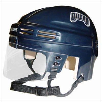 NHL Edmonton Oilers Replica Mini Hockey Helmet - Oilers Mini Helmet