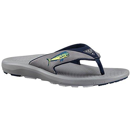 Columbia Men's Fish Flip PFG Light Grey/Cool Grey Sandal