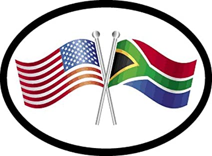 Amazon South Africa Friendship Oval Decal For Auto Truck Or