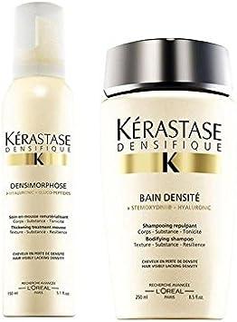 KÉRASTASE Densifique Bain densite (250ml) y Mousse densimorphose ...