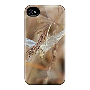 First-class Case Cover For Iphone 4/4s Dual Protection Cover Small Moth Macro