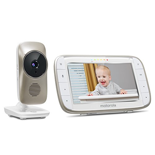 motorola mbp845connect video baby monitor with wi fi 5 inch color screen di. Black Bedroom Furniture Sets. Home Design Ideas