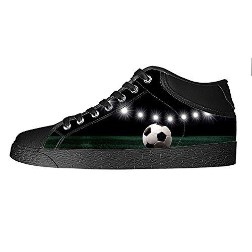 Alto Calcio Canvas Da I Shoes Sport Lacci Ginnastica Delle Women's Custom Tetto Scarpe zVqUSMp